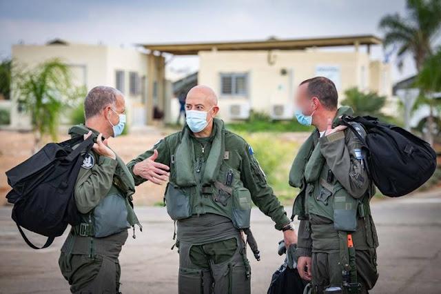 French Commander visits Israel