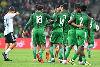 Argentina 2-4 Nigeria Goals & Highlights