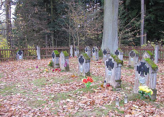 Cmentarz z okresu I wojny światowej nr 184.