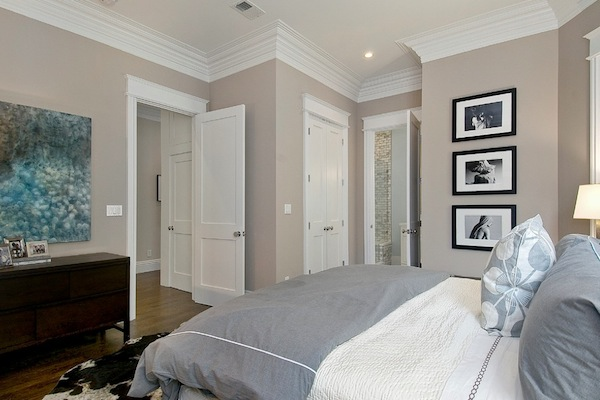 C b i d home decor and design call it greige for Elegant taupe paint