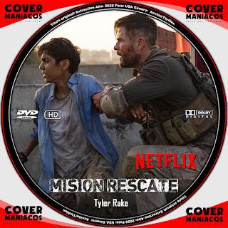 GALLETA MISION RESCATE - TYLER RAKE -EXTRACTION - OUT OF THE FIRE 2020[COVER DVD]