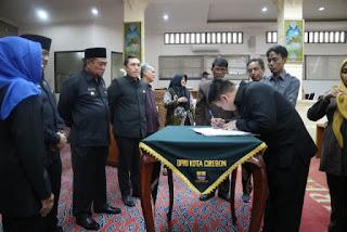 PP APBD Kota Cirebon Tahun 2019  Di Setujui DPRD