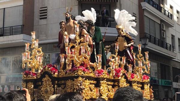 Jesús Despojado de Sevilla discurrirá un tramo de su recorrido en silencio
