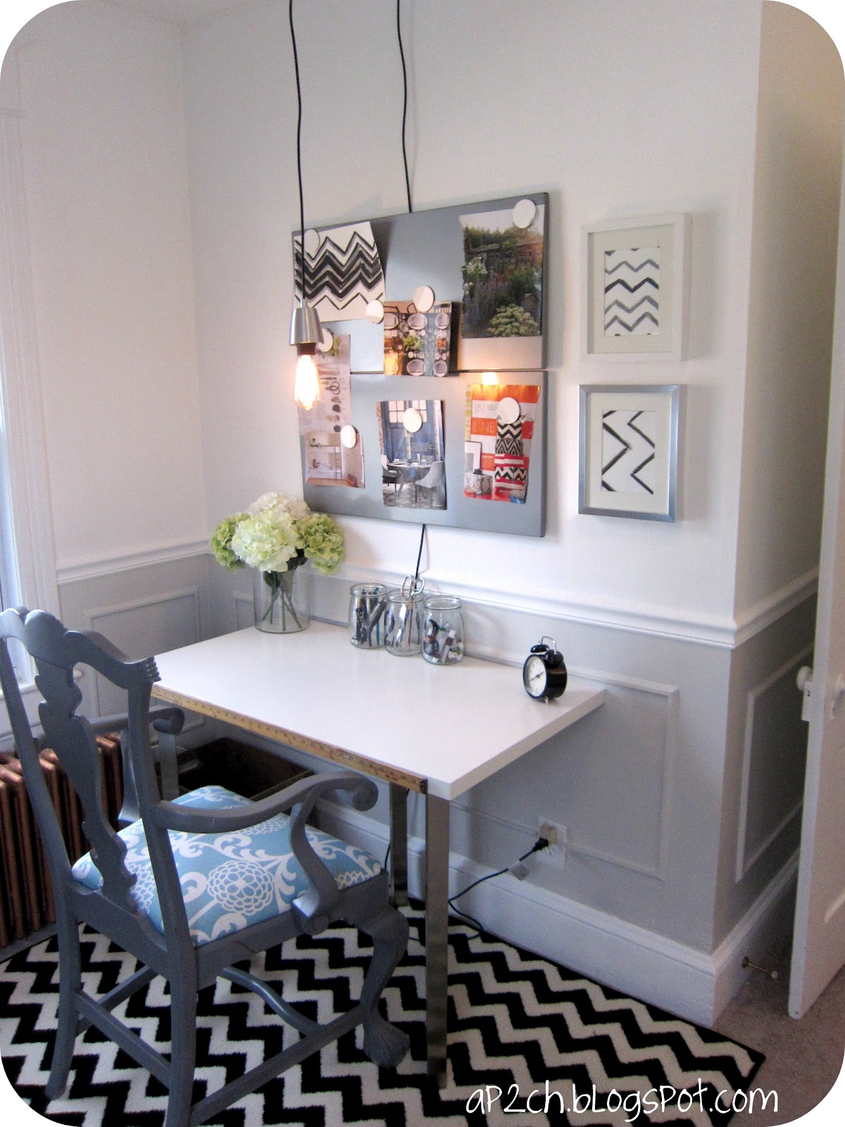 Ikea Home Office Youtube Remodelaholic Bright White Home Office