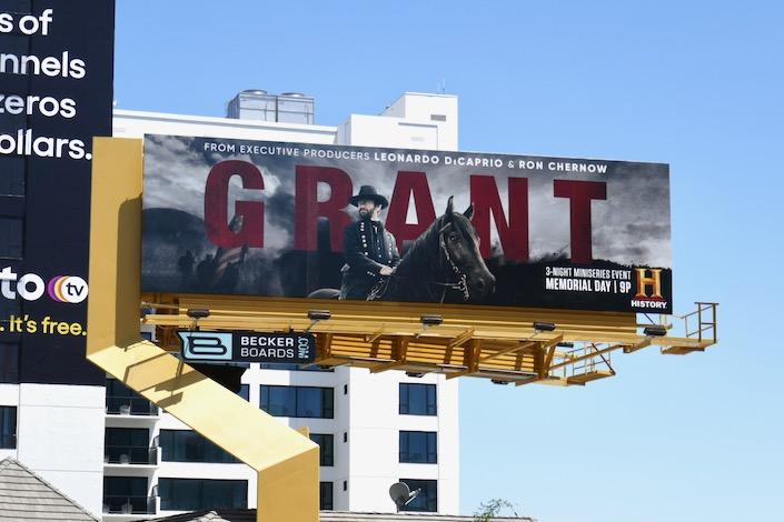Grant TV miniseries billboard