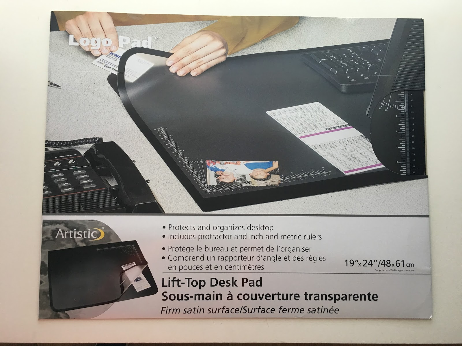 Desk Pad With Clear Overlay Hostgarcia
