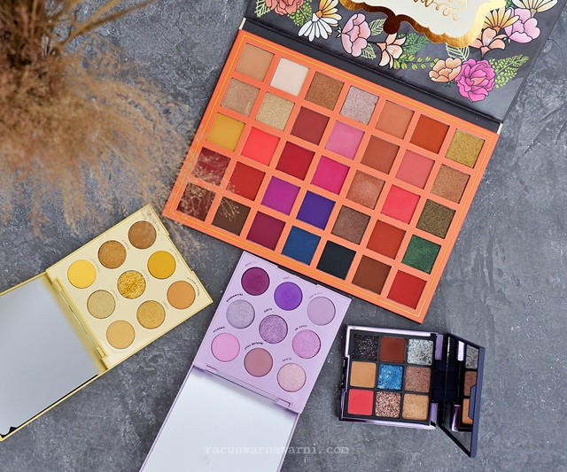 haul eyeshadow palette indonesia