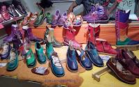moda sostenible; taller a pie