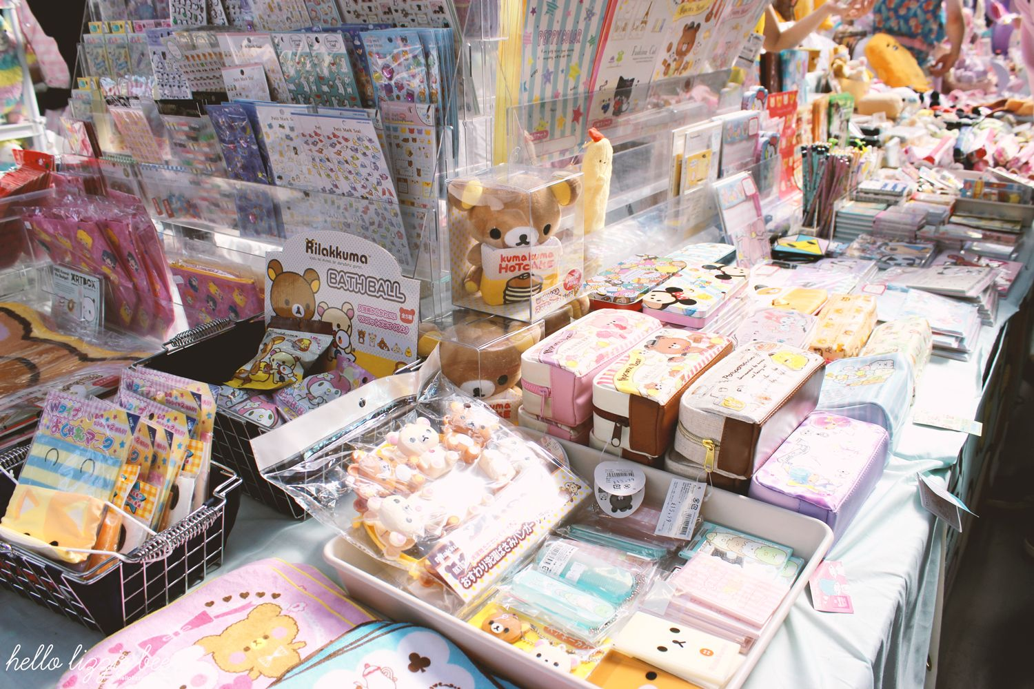 artbox, japanese, kawaii stationery, sanrio
