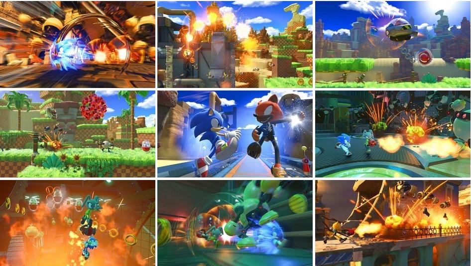 Sonic Forces + 5 [DLC] [Full] [Multilenguaje] [Español] [MEGA]