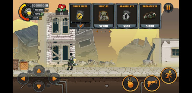 تحميل لعبة Metal soldiers2  ( MOD MONEY ) للاندرويد
