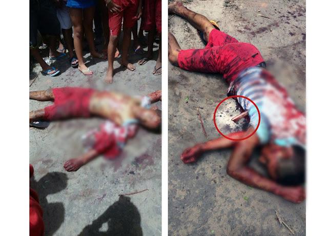Resultado de imagem para fotos jovem morto em alto alegre do maranhão com nove facadas