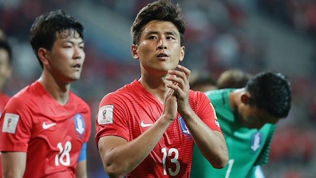 3. Hàn Quốc - nhất bảng G vòng loại thứ 2