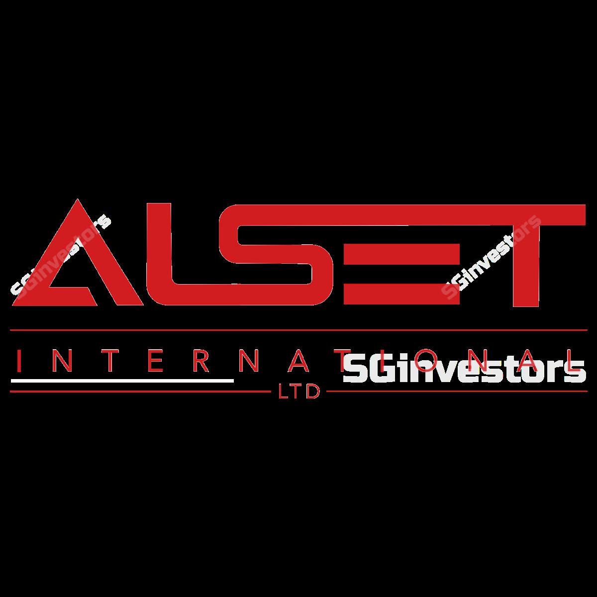 ALSET INTERNATIONAL LIMITED (SGX:40V) @ SGinvestors.io