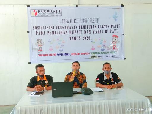 Bawaslu TTU Mengadakan Sosialisasi Pengawasan Pemilihan  Partisipatif Pada Pilkada 2020