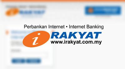 Daftar Perbankan Internet iRakyat Bank Rakyat 2020 (Cara Login)