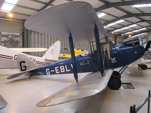 1/144 Shuttleworth diecast metal aircraft miniature De Havilland DH60 Moth