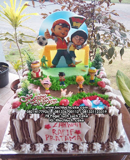 Boboiboy Birthday Cake Anak Cowok