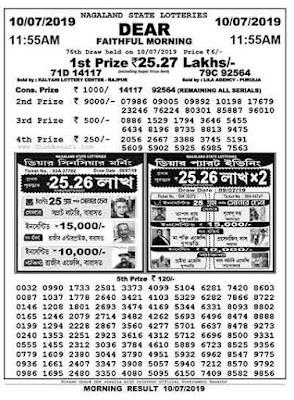 Lottery sambad today result 11:55 am 4pm 8pm - Lottery Sambad