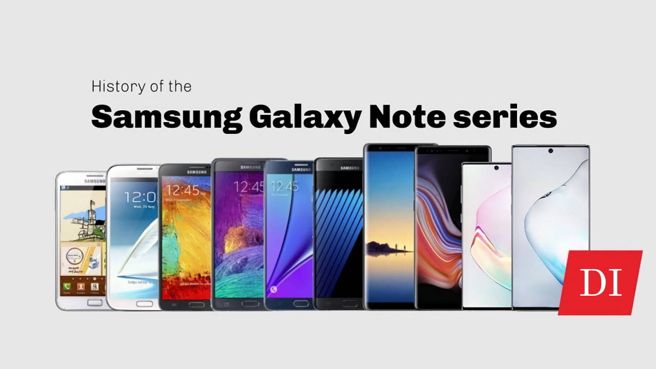 Review Perkembangan Seri Samsung Galaxy Note