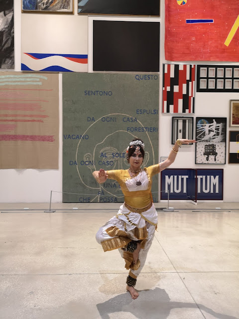 Danza  Indiana Bharata Natyam  Museo Macro Roma
