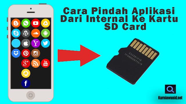 Memindah Aplikasi & Game Dari Internal Ke Kartu SD