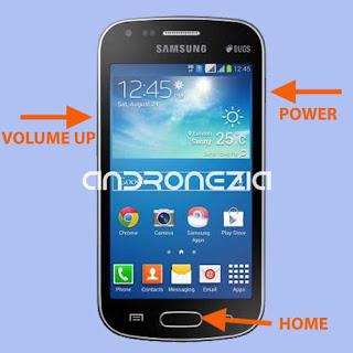 Cara Hard Reset Samsung Duos