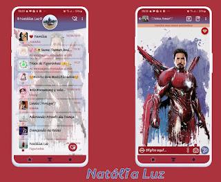 Iron Man Theme For YOWhatsApp & Fouad WhatsApp By Natalia Luz