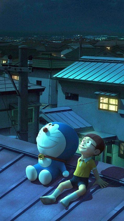 Hình nền điện thoại Doremon và Nobita