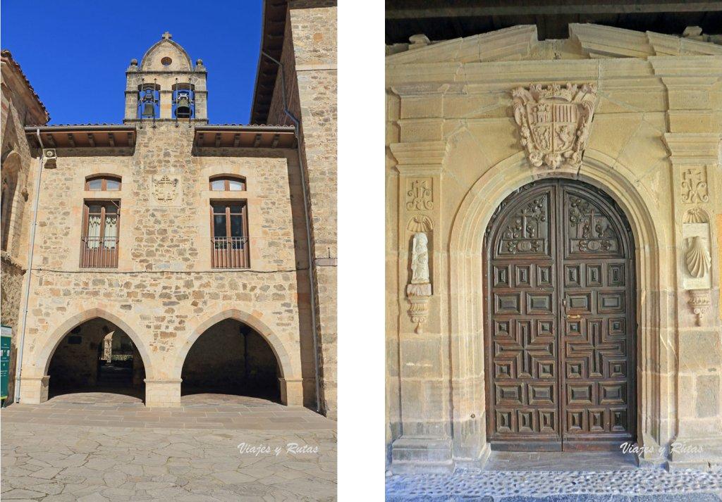 Entrada al Claustro del Monasterio de Santo Toribio de Liébana