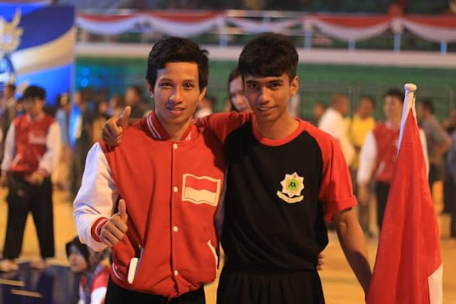 www.masmedia.xyz Pesilat Sulsel, Awaluddin (kiri)