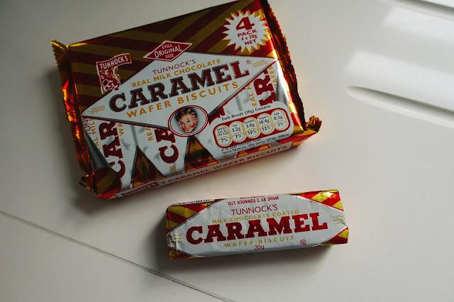 キャラメル・ウエハース・ビスケット(Caramel Wafer Biscuits)