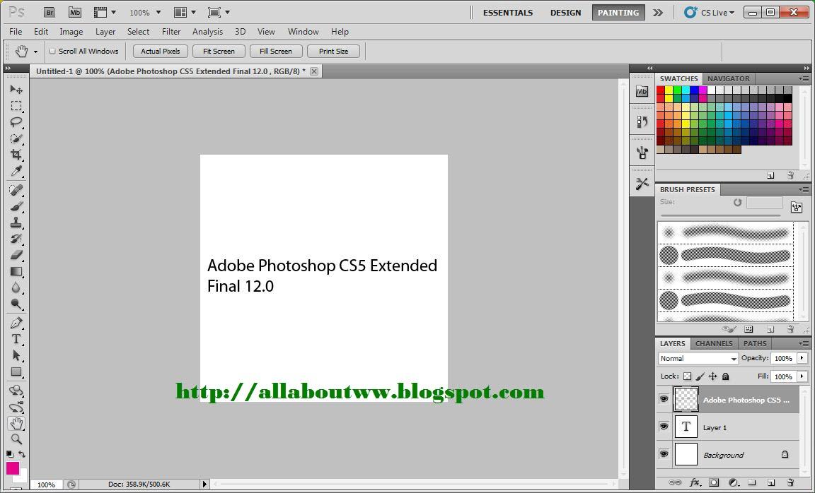 Adobe photoshop cs5 for mac