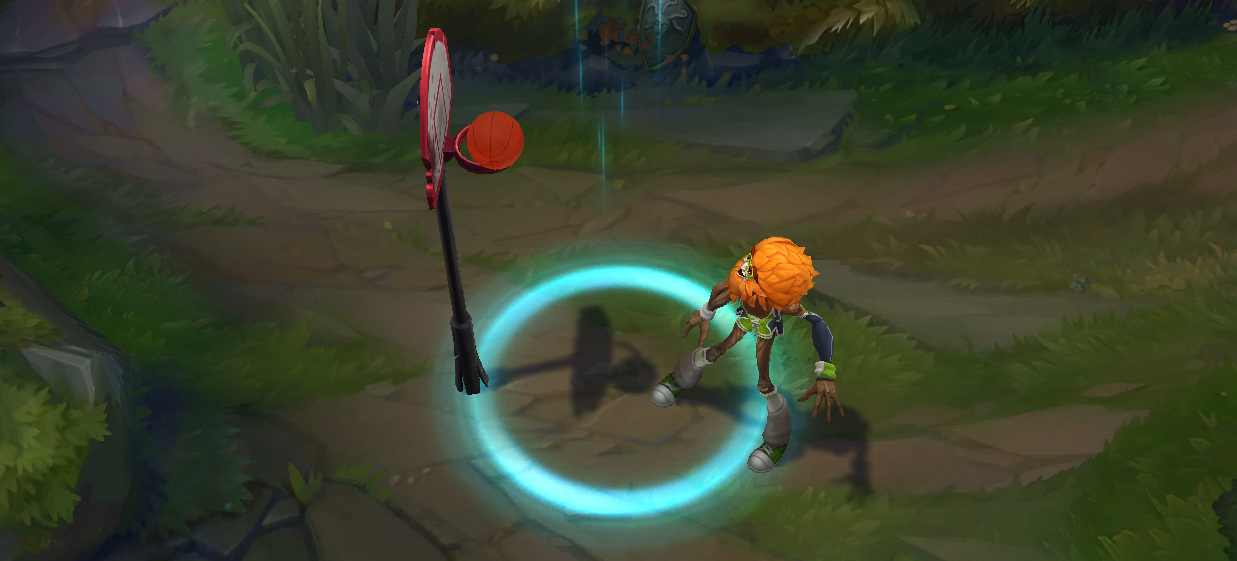 ivernrecall - I like Dunkmaster Ivern, but the skin's VFX could use some work to make it better