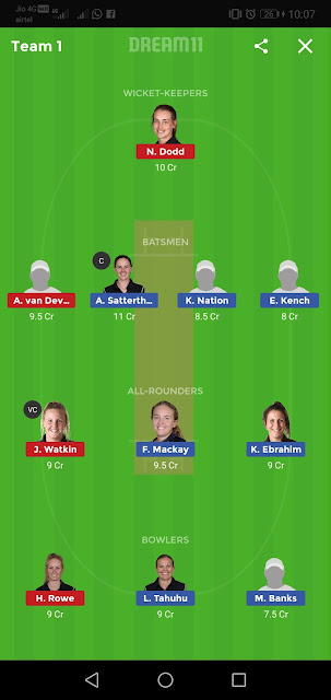 CM-W vs CH-W Dream11 Team,CM-W vs CH-W Dream11 Prediction,