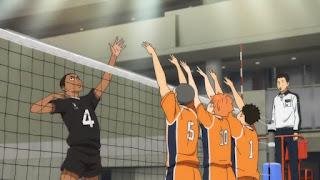 ハイキュー!! アニメ  第4期19話 烏野VS稲荷崎 | Haikyuu!! Season4 Episode 19 Karasuno vs Inarizaki