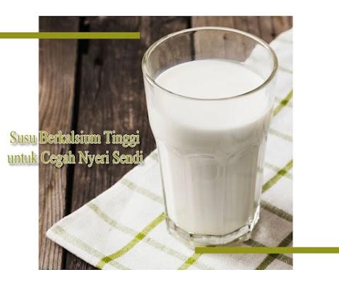 Susu Berkalsium Tinggi untuk Cegah Nyeri Sendi