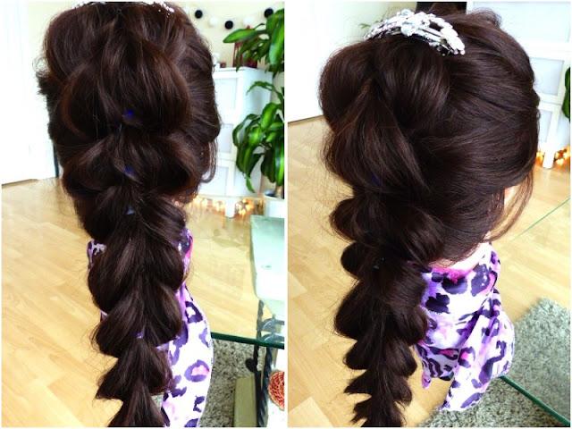 Beauty Hairstyle - Oszukany Warkocz
