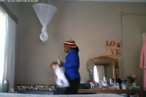 Nanny caught on Camera abusing 9-Month-Old Baby