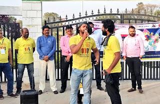 नुक्कड़ नाटक के माध्यम से प्लास्टिक मुक्त भारत का दिया सामाजिक संदेश | #NayaSaberaNetwork