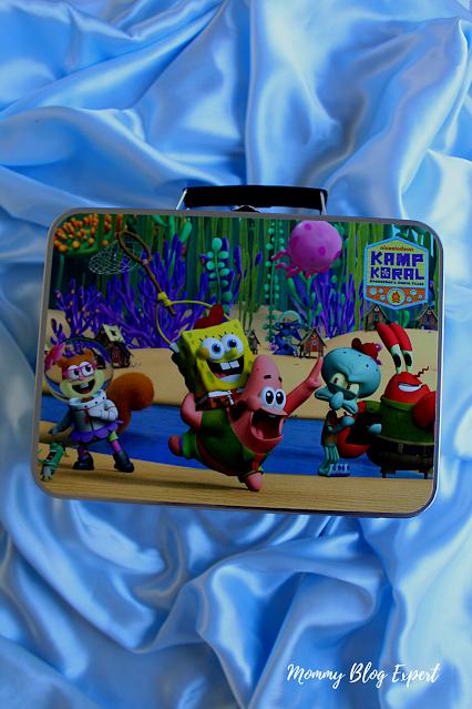 Kamp Koral SpongeBob Paramount Lunch Box