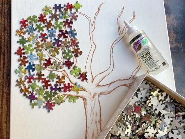 Διακοσμήστε τον τοίχο σας με ...puzzles
