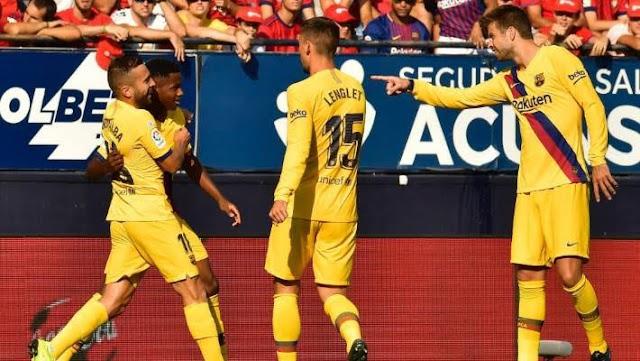 Match highlight From La liga games 31/08/2019