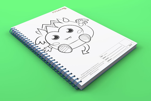 printable Scary moshi monster diavlo template outline coloriage Character Blank coloring pages book pdf pictures to print out for kids-to color fun colouring page child