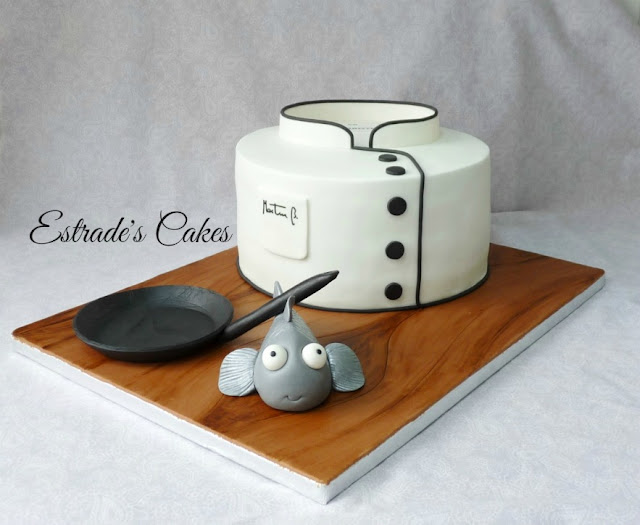 tarta para un chef 1