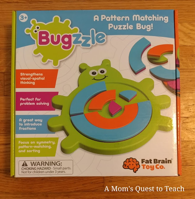 Bugzzle Game box