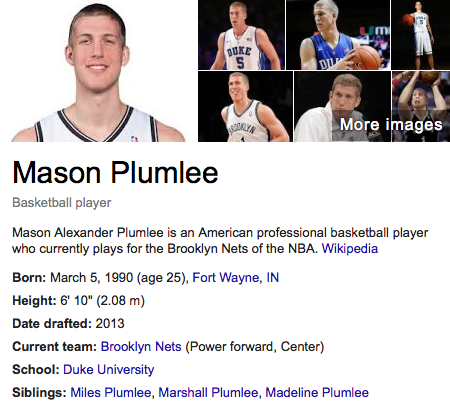 free to find truth: 47 | Mason Plumlee, Duke's Roster Primed