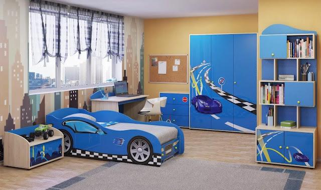 phòng ngủ bé trai - mẫu 1