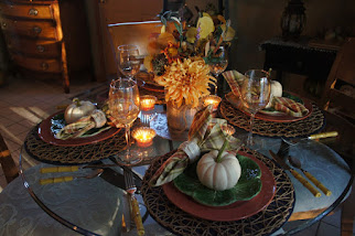 Country Style Autumn Dining