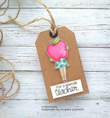 For a special teacher by Mugdha features Classy Teachers by Newton's Nook Designs; #newtonsnook